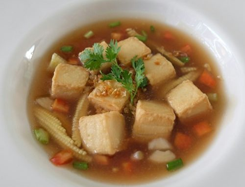Fish Tofu with Carrots