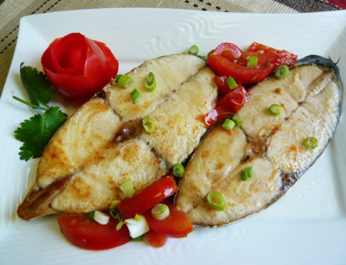 King Fish Steak with Tomato