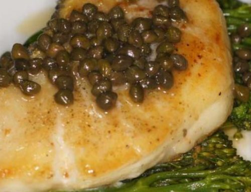 Sea Bass Steak