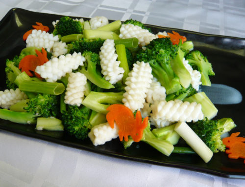 Squid & Broccoli Stir Fry